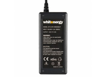Whitenergy Zasilacz 18.5V | 3.5A 65W wtyk 4.8x1.7mm, HP, Compaq (04096)