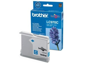 Brother Tusz LC970 błękitny DCP135/150/MFC235/260