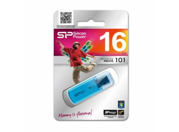 Silicon Power HELIOS 101 16GB USB 2.0 Ocean Blue