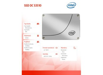 Intel S3510 120GB 2,5'' SSD SATA 6GB/s 16 nm