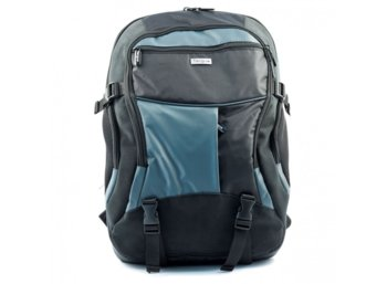 "Targus Atmosphere 17-18"" XL Laptop Backpack - Black/Blue"