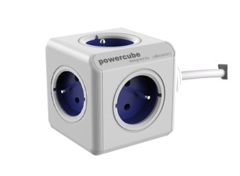 Allocacoc PowerCube Extended 1,5m 2300 Blue