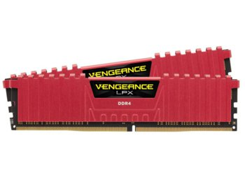 Corsair DDR4 Vengeance LPX 8GB/3000 (2*4GB) RED CL15-17-17-35
