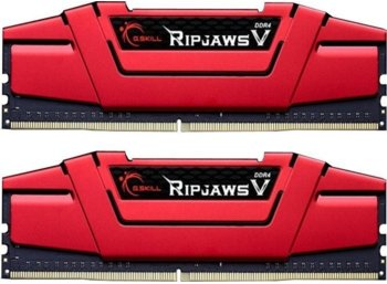 G.SKILL DDR4 RipjawsV 32GB (2x16GB) 2666MHz CL15-15-15 XMP2 Red