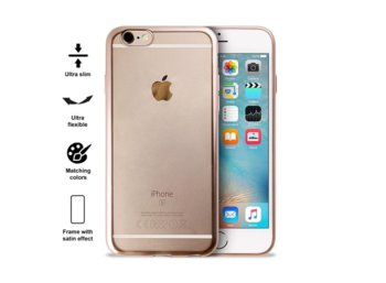 PURO Satin Cover - Etui iPhone 6/6s (Gold)