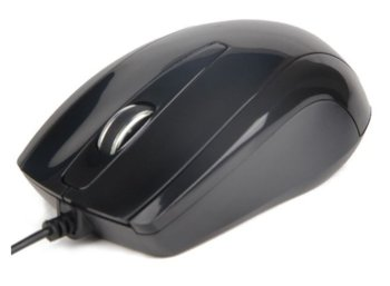 Gembird Mysz OPTO 1-SCROLL USB (MUS-U-003) Black
