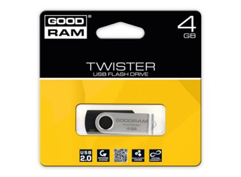 GOODRAM TWISTER 4GB Black USB2.0