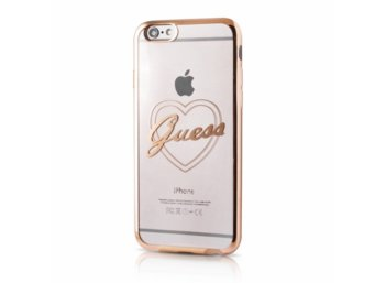 GUESS Hardcase GUHCP6LTRHG iPhone 6/6S Plus złoty heart signature