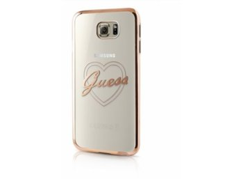 GUESS Hardcase GUHCS7TRHG Samsung G930 S7 gold heart signature