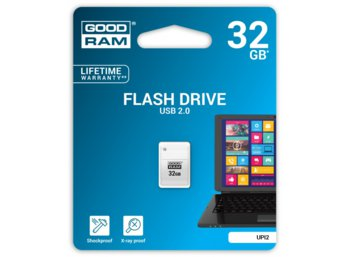 GOODRAM PICCOLO 32GB USB2.0 White