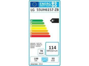LG Electronics 55'' LED        55UH6157