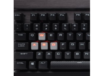 Corsair Gaming K70 LUX RAPIDFIRE Mechanical Key  -RED LED-       CHERRY MX RED