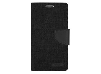 Mercury Etui CANVAS iPhone 6/6s czarne, notes