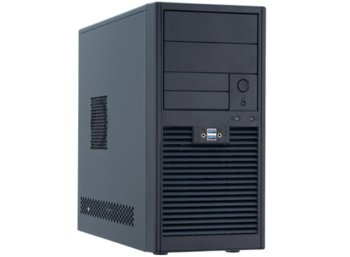 Chieftec SD-01B-U3-500 2xUSB3.0 MiniTower Black