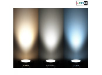 Maclean Panel LED natynkowy slim 18W Warm white 2800-3200K Led4U LD155W Fi225*H40mm
