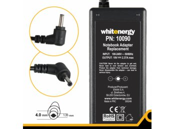 Whitenergy Zasilacz do laptopa ASUS 19V 2.37A