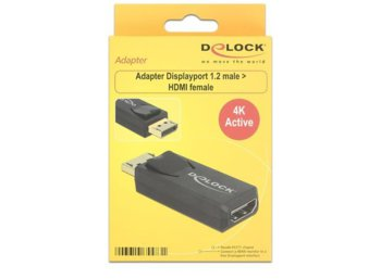 Delock Adapter Displayport 1.2(M)->HDMI(F) 4K Active