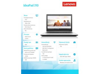 Lenovo IdeaPad 310-15IKB 80TV019QPB