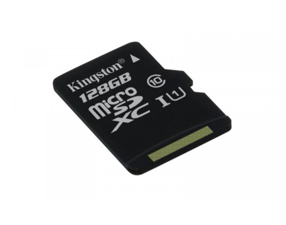 Kingston microSD 128GB Class10 Canvas Select 80/10MB/s