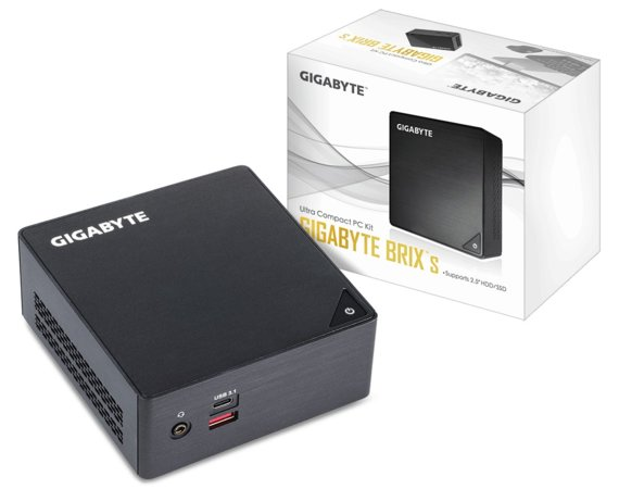 Gigabyte GB-BKi3HA-7100 Core i3-7100U DDR4 HDMI/mini DP/2USB3.1