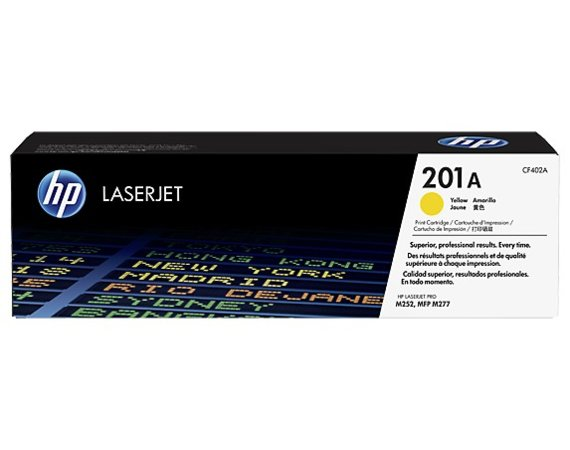 HP Inc. Toner 201A Yellow 1.4K CF402A