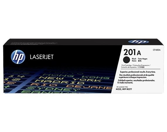 HP Inc. Toner 201A Black 1.5K CF400A