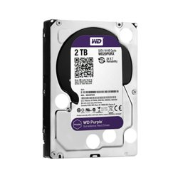 Western Digital HDD Purple 2TB 3,5'' 64MB  SATAIII/5400rpm