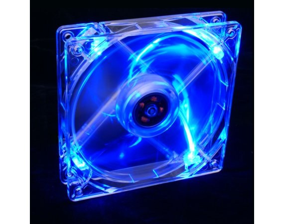 SilentiumPC Wentylator Zephyr 120x120x25mm LED BLUE- Cichy 13,6 dBA BOX