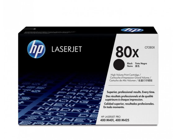 HP Inc. Toner 80X Black 6.8k CF280X