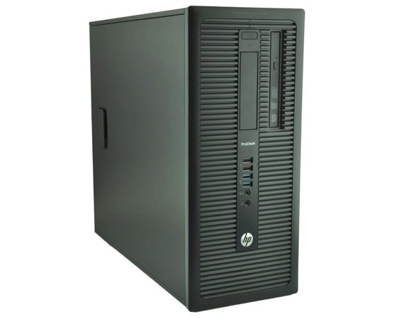 HP Inc. Komputer poleasingowy HP Pro Desk 600 G1 Tower i5-4570 8GB 240GB SSD + 500GB HDD DVD-RW Win 10 Home Mar Gwarancja 12M