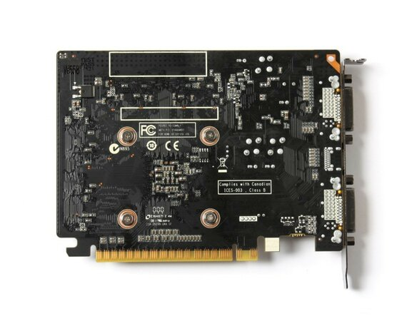 ZOTAC GeForce GT 730 2GB DDR3 128BIT 2DVI/mHDMI BOX