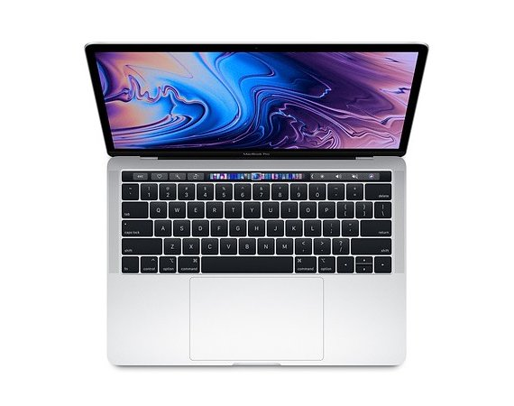 Apple Laptop MacBook Pro 13 Touch Bar, i5 2.3GHz quad-core/8GB/512GB SSD/Intel Iris Plus 655 - Silver
