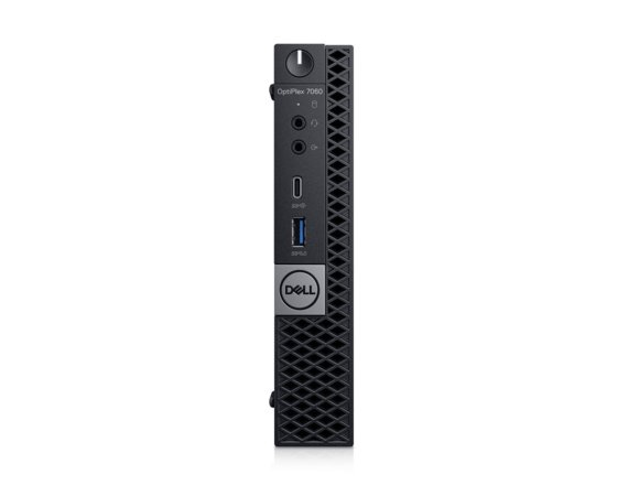Dell Komputer Optiplex 7060MFF W10Pro i7-8700T/8GB/256GB/Intel UHD 630/WLAN + BT/KB216/MS116/vPro/3Y NBD