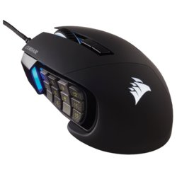 Corsair Mysz Scimitar Elite RGB 18000 DPI Black
