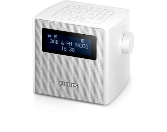 Philips Radiobudzik Clock Radio AJB4300W