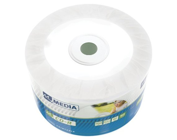 Verbatim CD-R My Media 700MB Wrap Printable (50 spindle)