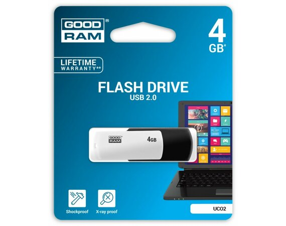 GOODRAM COLOUR BLACK&WHITE 4GB USB2.0