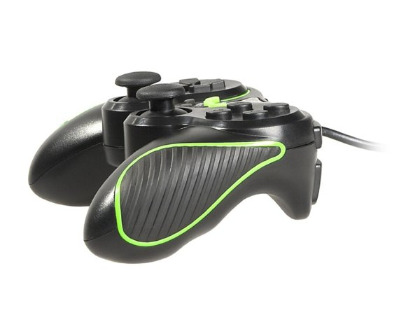 Tracer Gamepad PC/PS2/PS3 Green Arrow