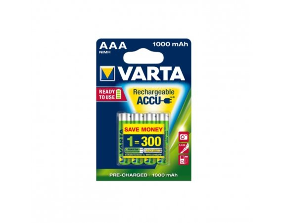 Varta Akumulator R3 1000 mAh 4szt ready 2 use