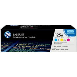 HP Inc. Toner 125A CLJ CP1215 3-Pack CMY CF373AM