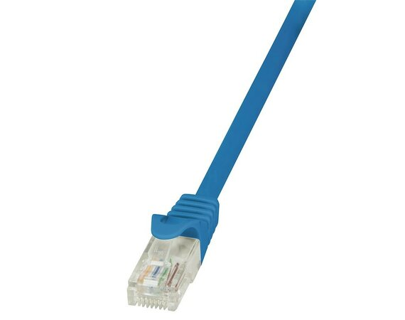 LogiLink Patch Cable CAT.5e U/UTP, 5m, niebieski