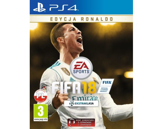 EA Gra PS4 FIFA 18 Ronaldo Edition