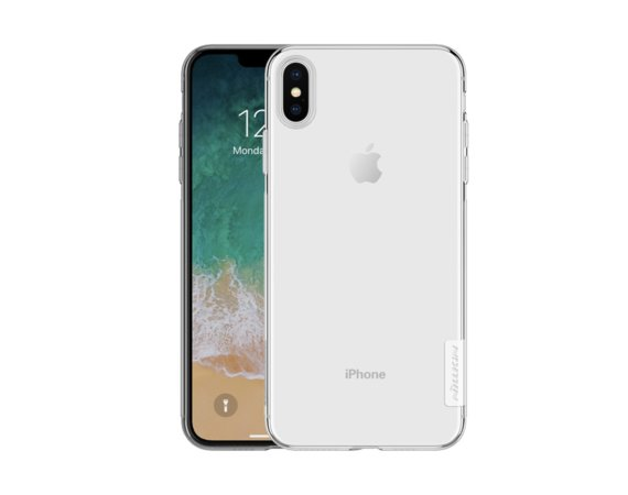 Nillkin Etui Nature Apple iPhone XS MAX przezroczyste