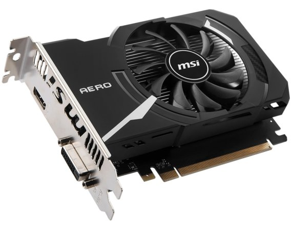 MSI GeForce GT 1030 2GB OC DDR4 64BIT HDMI/DVI