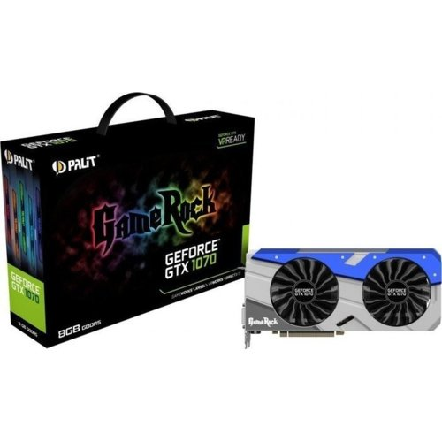 Palit GeForce GTX 1070 Gamerock 8GB DDR5 256BIT DVI/3DP