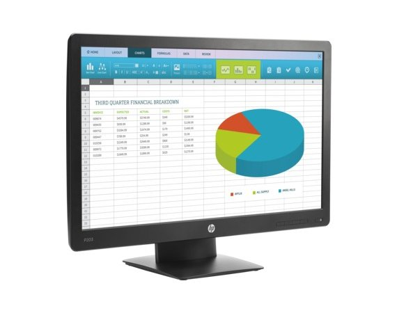 HP Inc. Monitor 20 Pro P203  Display X7R53AA