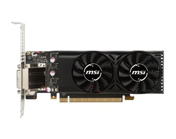 MSI Karta graficzna GeForce GTX 1050 TI 4GB DDR5 128BIT DVI/HDMI