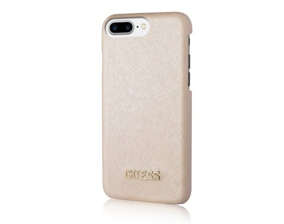 GUESS Etui hardcase GUHCP7LTBE iPhone 7/8 Plus beżowy Saffiano