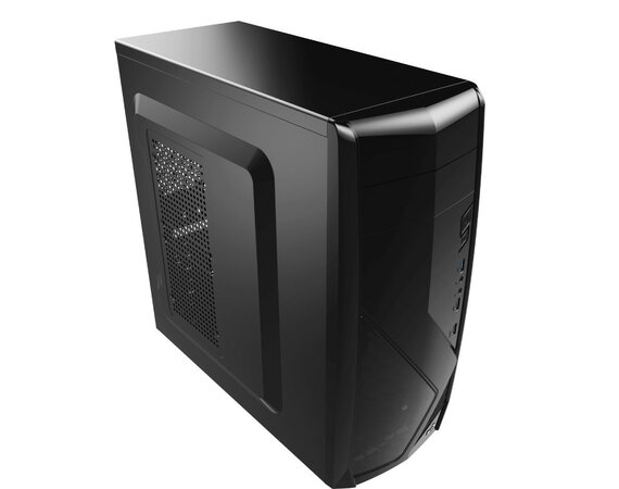 AeroCool PGS CS-1102 BLACK/USB3/Obudowa SLIM