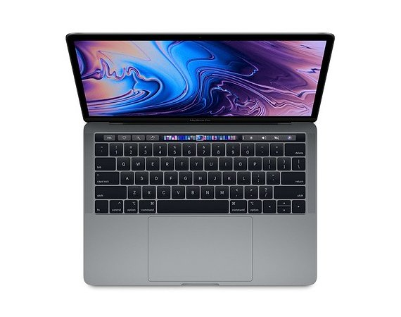 Apple MacBook Pro 13 Touch Bar: 1.7GHz quad-core 8th Intel Core i7/16GB/256GB - Space Grey MXK32ZE/A/P1/R1